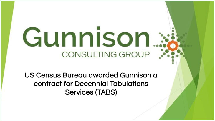 Gunnison a contract for Decennial Tabulations Services