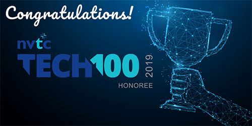 Congratulations NVTC Tech 100 Award Twitter